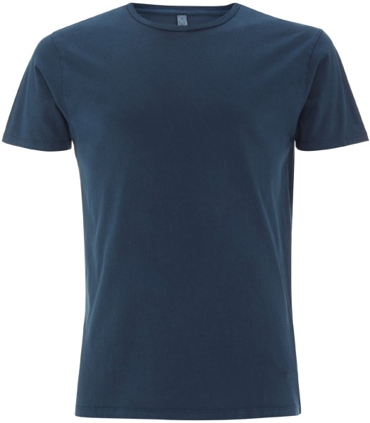 Männer T-Shirt dyed denim Bio-Baumwolle EP30