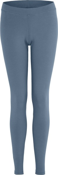 Leggings aus Bio-Baumwoll-Jersey - denim