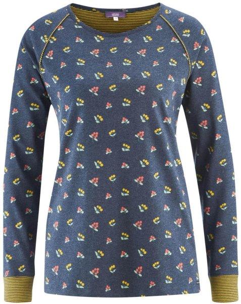 Schlaf-Shirt aus Bio-Baumwolle - autumn berries