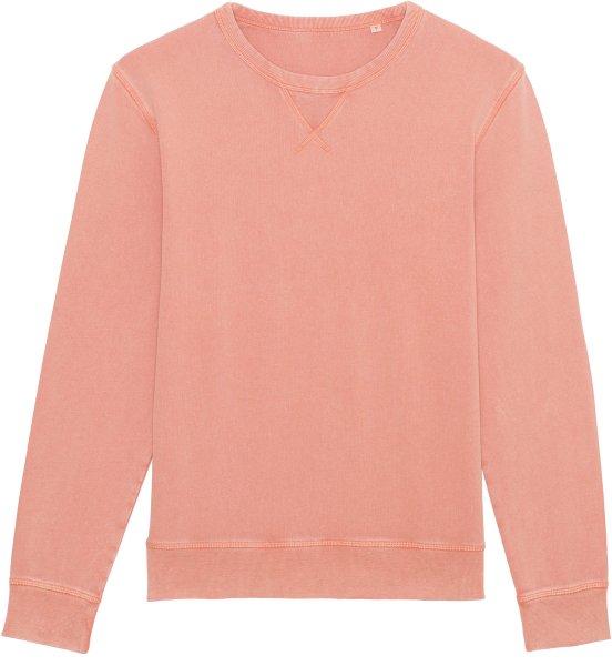 Vintage Sweatshirt aus Bio-Baumwolle - g. dyed aged rose clay