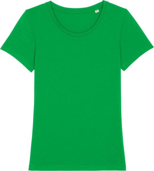 T-Shirt aus Bio-Baumwolle - fresh green