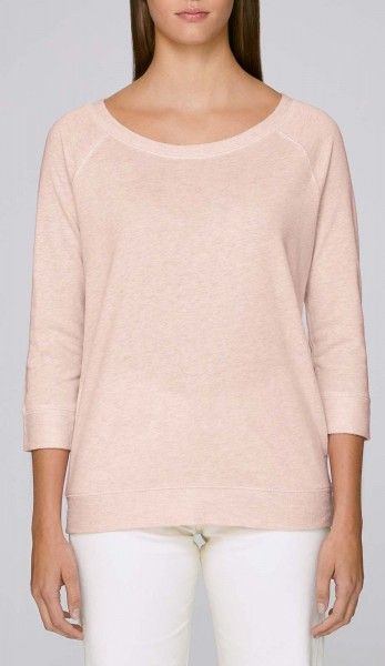 Amazes - Sweater aus Biobaumwolle - cream heather pink - Bild 1