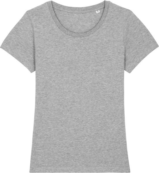 T-Shirt aus Bio-Baumwolle - heather grey