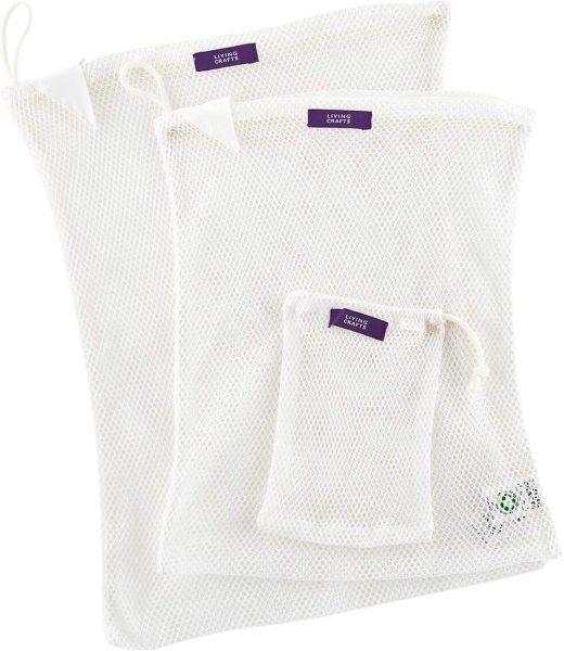 Wäschenetze aus Bio-Baumwolle - 2er-Set