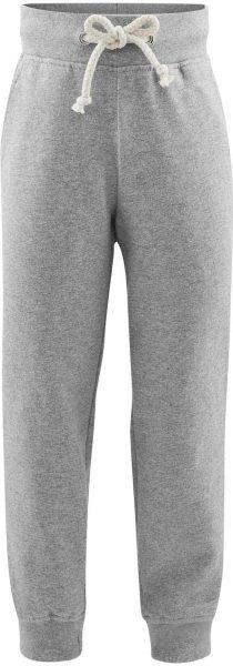 Kinder Relax-Hose aus Bio-Baumwolle – grey melange