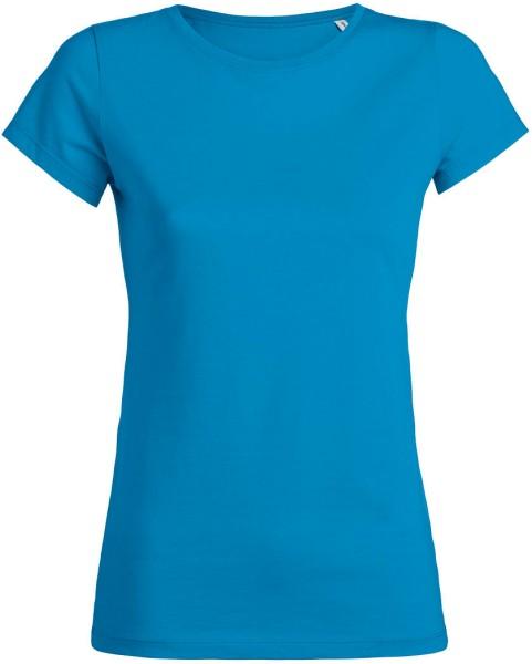 Wants - T-Shirt aus Bio-Baumwolle - azur
