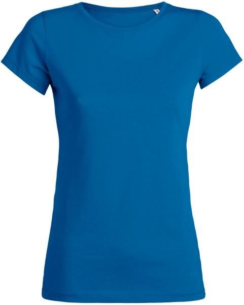 T-Shirt aus Bio-Baumwolle - royal blue