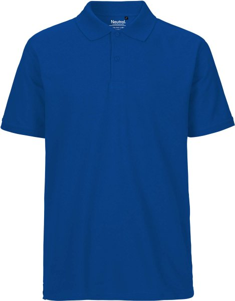 Polo Shirt Männer royalblau Fairtrade - Neutral O20080