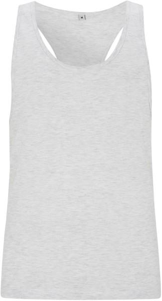 Racerback Jersey-Vest - melange white