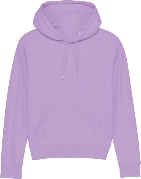 Raglan-Hoodie aus Bio-Baumwolle - lavender dawn