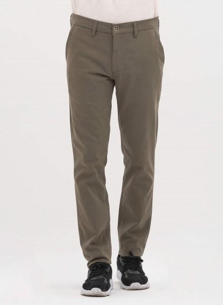 Hose aus Bio-Baumwolle - khaki
