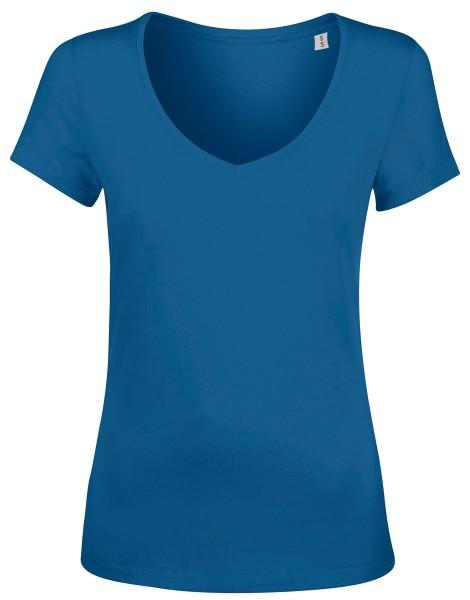 Chooses - V-Ausschnitt Shirt Biobaumwolle