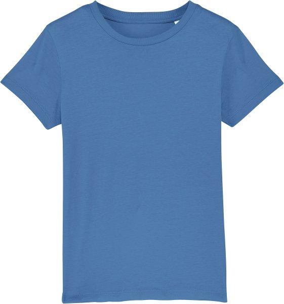 Kinder T-Shirt aus Bio-Baumwolle - bright blue