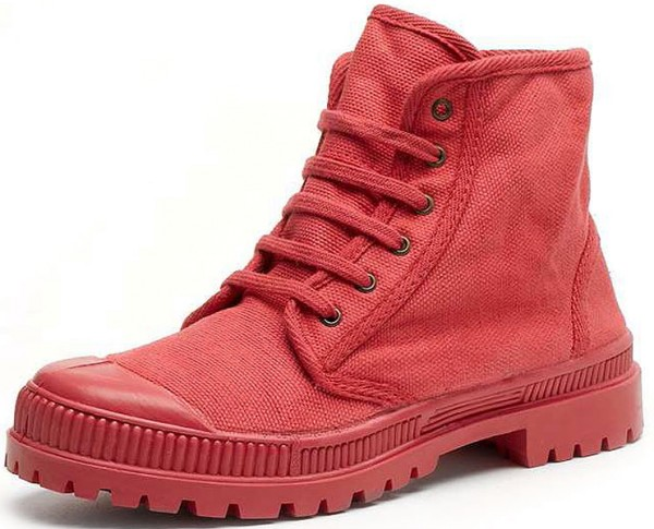 Bota Baja Suela Al Tono - Schuhe aus Bio-Baumwolle - fresa - Bild 1