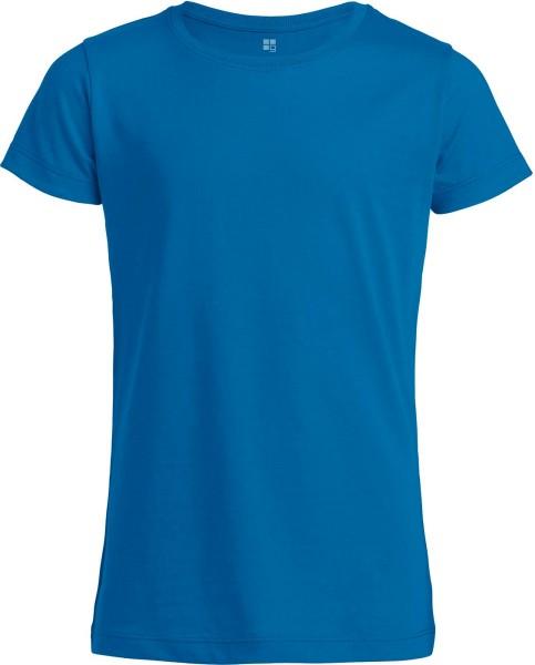 Kinder T-Shirt aus Bio-Baumwolle - royal blue