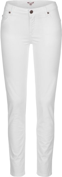 Svenja - 5 Pocket Hose aus Bio-Baumwolle - white