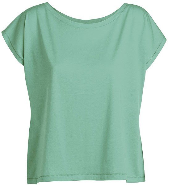 Flies - Weites T-Shirt mit U-Ausschnitt - mint green - Bild 1