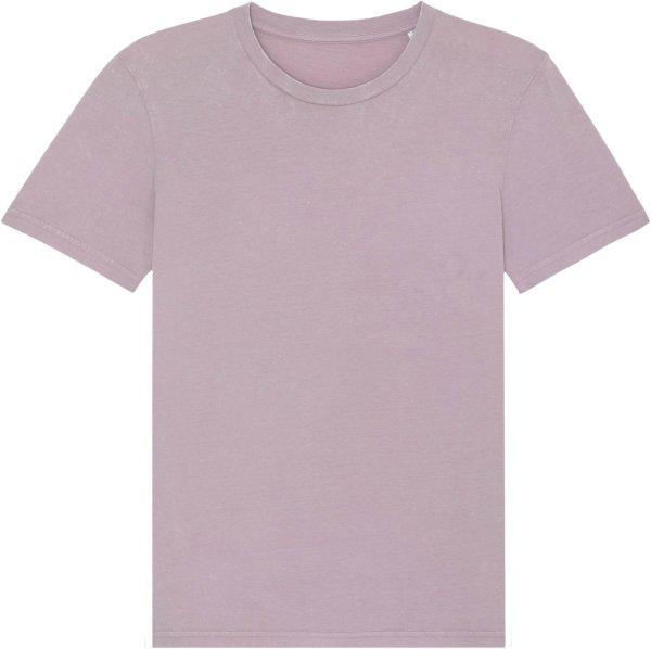 Vintage T-Shirt aus Bio-Baumwolle - g. dyed aged lilac petal