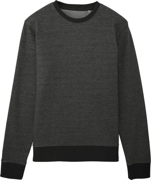 Sweatshirt aus Bio-Baumwolle - stretch limo