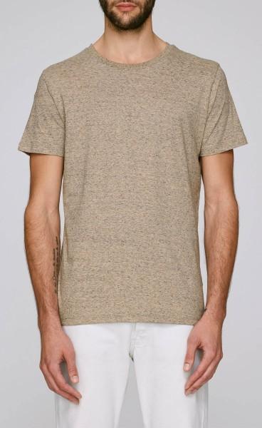 Leads - T-Shirt aus Bio-Baumwolle - slub heather clay - Bild 1
