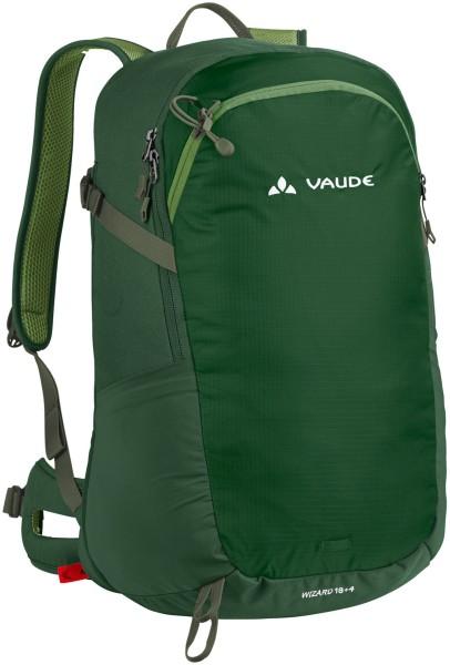 Wizard grün kleiner Rucksack VAUDE 18+4