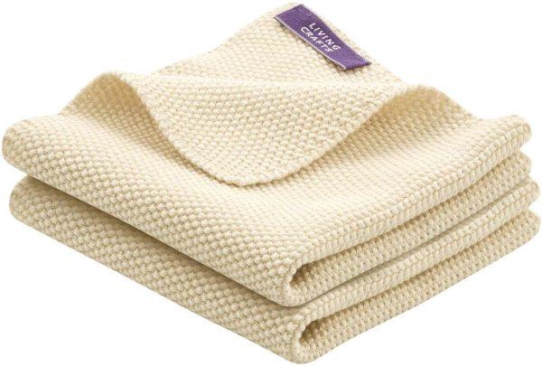 Spültücher aus Bio-Baumwolle - Doppelpack - natural