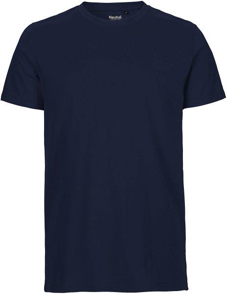 Organic Fitted T-Shirt Fairtrade navy - Bild 1