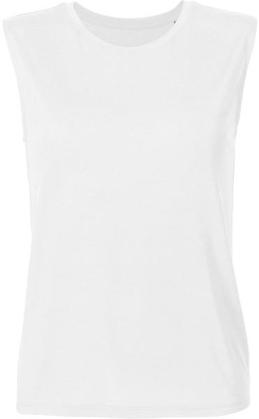 Sparkles Modal - T-Shirt aus 100% Modalfasern - weiss