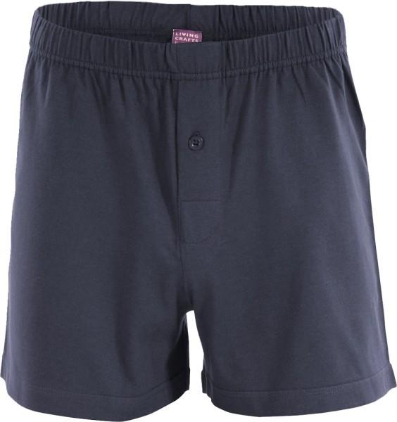 Boxer Shorts aus Biobaumwolle navy graphite