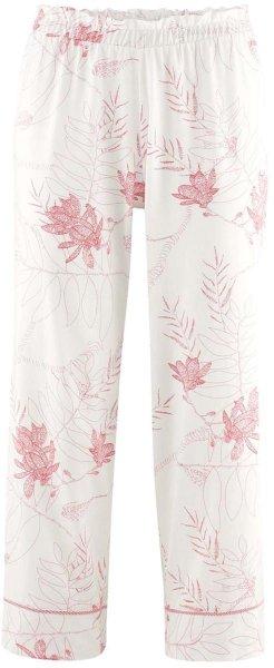 7/8 Schlafhose aus Bio-Baumwolle - offwhite/magnolia