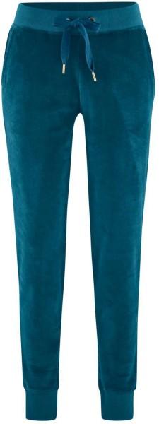 Nicki Relax-Hose aus Bio-Baumwolle - petrol