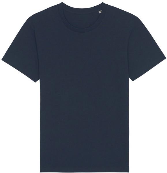 Basic T-Shirt aus Bio-Baumwolle - french navy