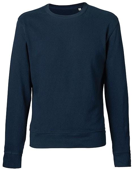 Leichter Sweater aus Bio-Baumwolle - navy