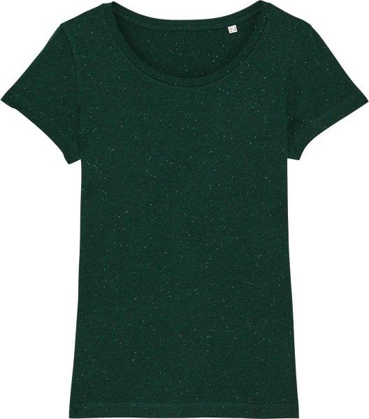 Jersey-Shirt aus Bio-Baumwolle - heather scarab green