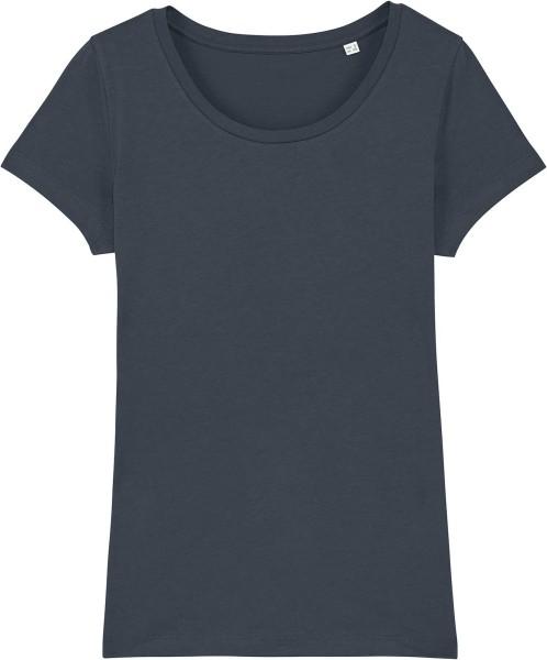Jersey-Shirt aus Bio-Baumwolle - india ink grey
