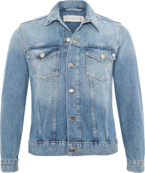 Jeansjacke aus Bio-Baumwolle und recycelter Baumwolle