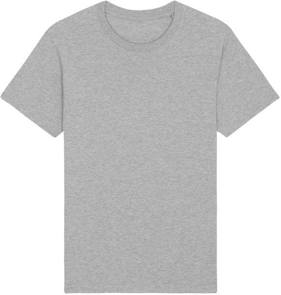 Basic T-Shirt aus Bio-Baumwolle - heather grey
