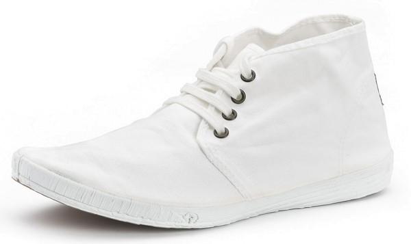 Bota Safari - Schnürschuhe aus Bio-Baumwolle - blanco - Bild 1