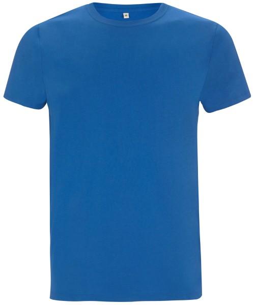 Blaues Shirt Bio-Baumwolle