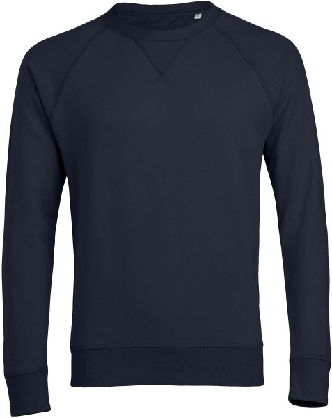 Sweater aus Bio-Baumwolle - navy