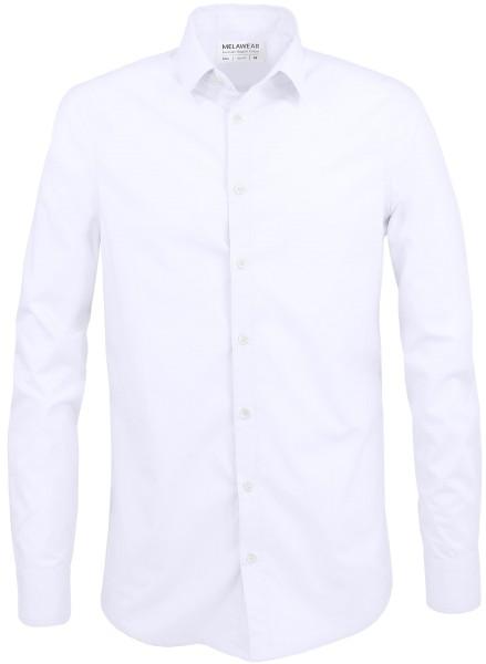 Herren Business-Hemd weiss Bio-Baumwolle GOTS