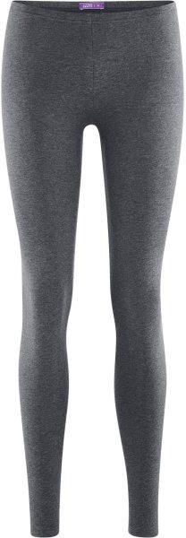 Leggings aus Biobaumwolle - graphite melange