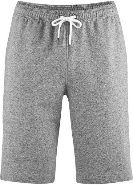 Sweat-Shorts aus Bio-Baumwolle - stone grey - Bild 1