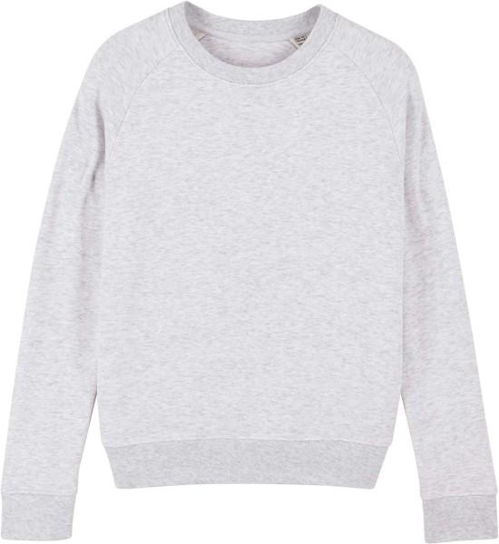 Sweatshirt aus Bio-Baumwolle - heather ash