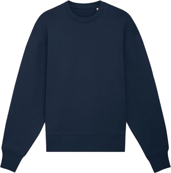 Super Heavy Oversized Sweatshirt aus Bio-Baumwolle - french navy