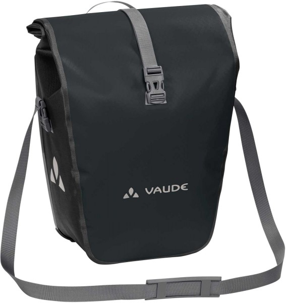 Hinterradtasche Aqua Back - black