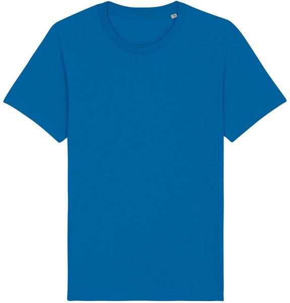 Basic T-Shirt aus Bio-Baumwolle - royal blue