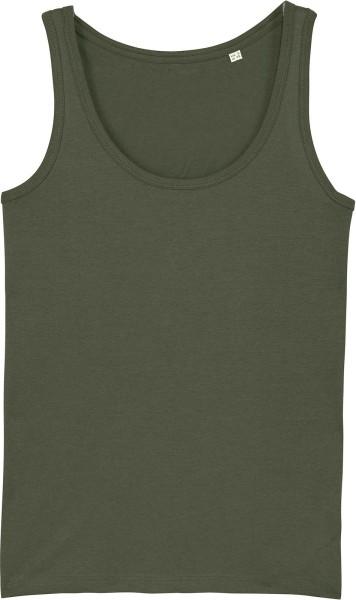 Tank-Top aus Bio-Baumwolle - khaki