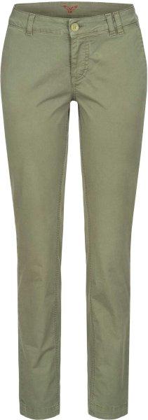 Laina - Chino-Hose aus Bio-Baumwolle - light khaki