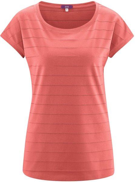 Schlaf-Shirt aus Bio-Baumwolle - blush